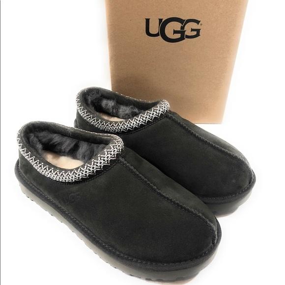 a7c5a63e94b UGG Tasman Slipper shoes SUEDE BLKO Gray NIB NWT